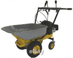 Massimo Multi-function Heavy Duty Power Wheelbarrow Garden Yard Cart Dump
