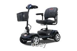 Mobility Scooter Powered Wheelchair Electric Device Compact for Travel 4 Wheel