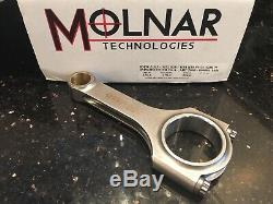 Molnar HEAVY DUTY Power Adder! 135mm BMW M52/S50/S52/M54 Rods Turbo Billet GDM