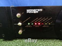 Monster HTS 5000 Home Theatre Reference Power Center Stage Four Surge Protector
