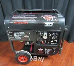 NEW Heavy Duty Power HDG9000ER 15HP Tri-Fuel Generator with Honda GX390