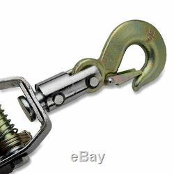 Neiko 02256A Neiko 02256A Heavy Duty 5 Ton Come-a-Long Power Puller, 3 Hooks and