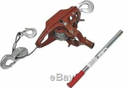 New American Power Pull 15002 3 Ton Heavy Duty Cable Puller Come Along 9192550