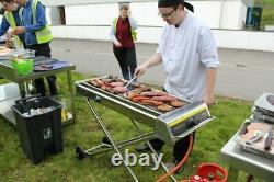 New Heavy-duty Foldable Propane Gas Barbecue High Power Ex- Wide Cooking Surface