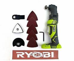 New Ryobi 18 Volt Jobmax Jobplus Multi-tool Power Handle +attachments P246 P570