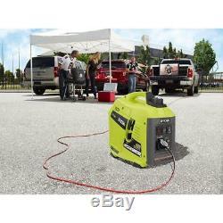 New Ryobi Heavy Duty Gas Generator High Power Inverter Camping RV Emergency Home