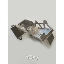 No Limit Raw Aluminum Coolant Tank 11-16 Ford 6.7L Powerstroke Diesel Superduty