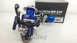 OPASS SW4500 V-POWER Spinning Reel SALTWATER HEAVY DUTY BIGGAME 3-5 day USA AUS