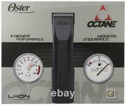 Oster Octane Heavy Duty Cordless Hair Clipper Powered by Lithium-Ion Battery