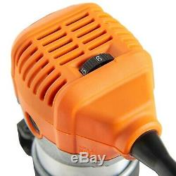 Palm Router Saw Heavy Duty Power Trimmer Wood Cutting Carpentry Tool with Bag