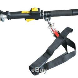 Pole Saw 10 in Gas Powered Extension Chain Saws Commercial Heavy Duty With Strap