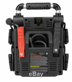 Portable Power Booster Pack Heavy Duty Battery Jump Box USB Compressor Charger