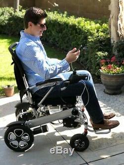 Porto Mobility The Beast Lightweight, Heavy Duty, Foldable Power Wheelchair