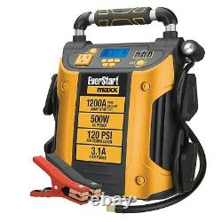 Power Booster Pack Jump Starter Box Charger Battery Portable Heavy Duty Auto Car
