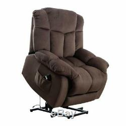 Power Lift Recliner Elderly Chair Heavy Duty Safety Motion Reclining Mechanism