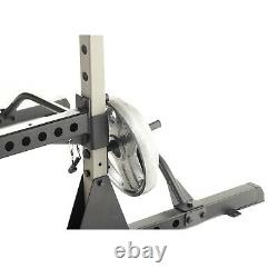 Power Rack Adjustable Heavy Duty Gym Squat Bench Spotter Fitness Reality 810XLT