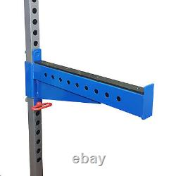 Power Rack Spotter Arms 50mm Heavy Duty Barbell Safety Catcher Home Gym Presale