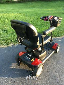 Pride Go-Go Elite Traveller 4-Wheel Mobility Scooter Power Chair LOCAL NJ PICKUP