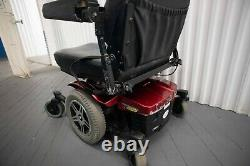 Pride Jazzy 614 HD Power Wheelchair Heavy Duty/Rated 450 lbs Red