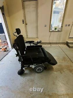 Quantum Q1450 Bariatric Power Chair Heavy Duty Good Condition Recline Tilt