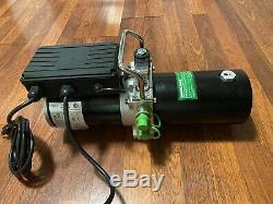 Quick Jack Double-Acting Hydraulic Power Unit 110v Portable Car Lift Jack Quick