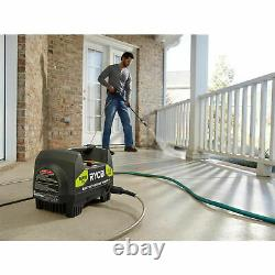 RYOBI 1600 PSI ELECTRIC PRESSURE WASHER 1.2 GPM Power Washer with Turbo Nozzle