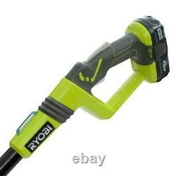 RYOBI Cordless Pole Saw 8 in. Bar/Chain 18-Volt Lithium-Ion Battery Charger