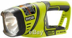 RYOBI Power Tool Combo Kit 18-Volt Cordless Brushed Motor Heavy-Duty 5-Tool