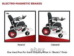 Ranger D09 XL Heavy Duty Airline Approved All Terrain Folding Power Wheelchair