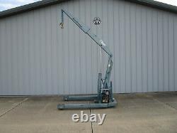 Ruger Industries HP-3 Power Crane 6000-1100lbs HEAVY DUTY SHOP CRANE