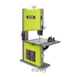 Ryobi 2.5 Amp 9 in. Band Saw Woodworking Table Blade HeavyDuty Power Cutting New