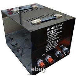 SEVENSTAR 10000 Watt Step Up Down Power Voltage Converter Transformer 110V220V