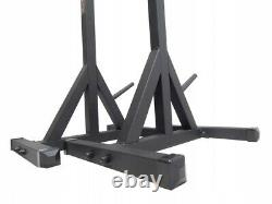 SQUAT RACK Adjustable Gym Power Rack Barbell Stands Weight Bench Heavy Duty