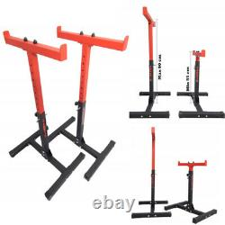 Safety Barbell Squat Rack Stands Adjustable Stand Power Rack Gym Heavy Duty 300k