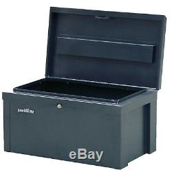 Sealey Power Tool Chest Safe Box Site Office Van Heavy Duty Steel With Lid Lock