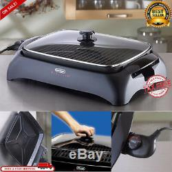 Smokeless Indoor Electric Grill POWER 1500 Watts XL Non-Stick BBQ Barbecue