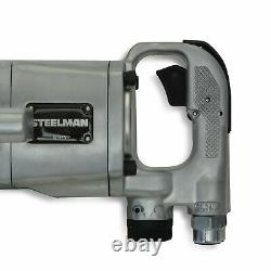 Steelman 1 in. Drive 1,900 ft-lb Heavy Duty Air-Powered Impact Wrench 60355