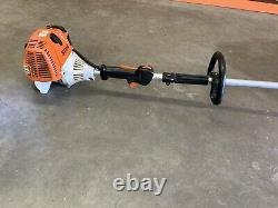 Stihl FS110R Trimmer / BRUSH CUTTER POWERFUL 31CC UNIT With New Blade Fast SHIP