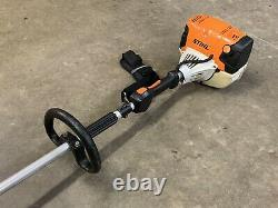 Stihl FS111RX BRUSH CUTTER Weedeater POWERFUL 31CC UNIT With New Blade Fast SHIP