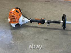 Stihl FS130 Trimmer / BRUSH CUTTER POWERFUL 36CC UNIT With New Blade Fast SHIP