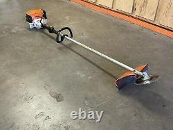 Stihl FS91R Trimmer / BRUSH CUTTER POWERFUL 28CC UNIT With New Blade Fast SHIP