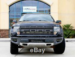 Triple 10W CREE LED Pods withLower Bumper Mount Bracket Wire For 10-14 Ford Raptor