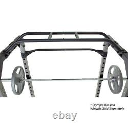 Ultra Strength Squat Rack Power Cage WITH HEAVY DUTY BENCH FAST SHIPPING
