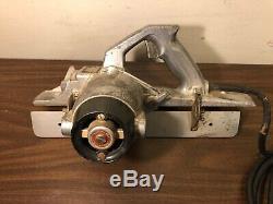 Vintage Porter Cable Model 126 Heavy Duty Porta-Plane Power Planer in Metal Case
