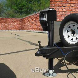 Weize Power Tongue Jack, 3500 LB Heavy Duty Electric Trailer Jack 23-5/8 Lift