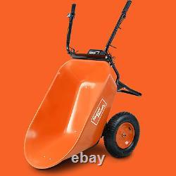 Wheelbarrow Electric Powered Utility Cart Ultra Duty 24V 180W 150Kg Capacity NEW