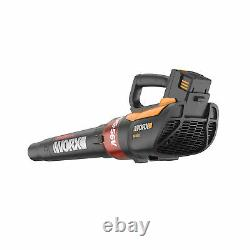 Worx 56V 465 CFM 2 Speed Turbine Cordless Leaf Blower with Battery (Open Box)
