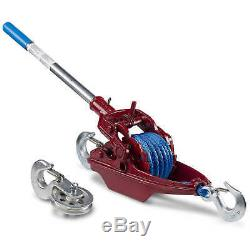 Wyeth-Scott More Power Puller with Amsteel Blue Rope 3-Ton Capacity