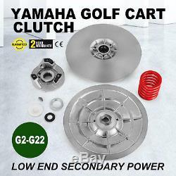 Yamaha Gas Golf Cart Driven Clutch Kit G2-G22 G14 Heavy duty Secondary Power
